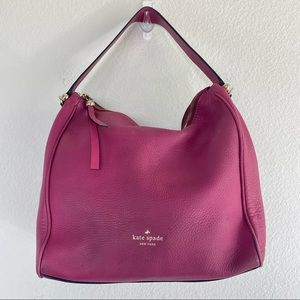 Kate Spade Charles Street Small Haven Berry Hobo